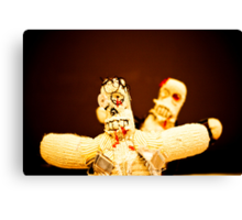 Zombie Doll Attack-3 Canvas Print