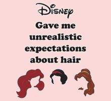 Disney Hair Expectations by marinasinger