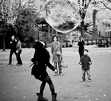 Playing with Bubbles by Lidia D'Opera