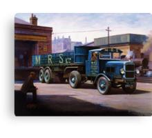 Scammell MRS 1931 Canvas Print