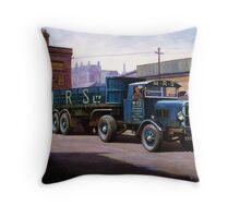 Scammell MRS 1931 Throw Pillow