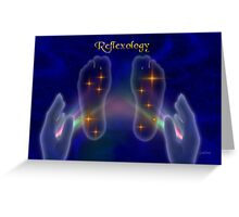 Reflexology 2 Greeting Card