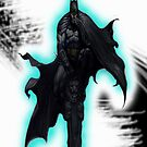 Batman Asylum Design case by Geckoface