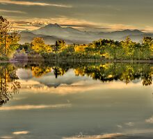 Golden Dreams At Golden Ponds by Gregory J Summers
