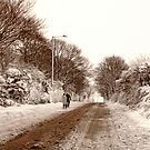 Ormskirk - Snow by Liam Liberty