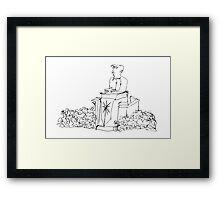 The Preacher Framed Print