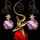 holiday card by Susan Ringler