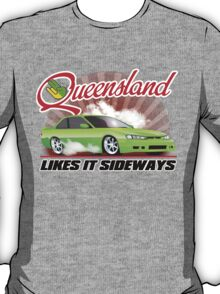 Queensland likes it sideways T-Shirt