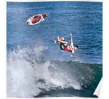Jordy Smith at 2010 Billabong Pipe Masters In Memory Of Andy Irons Poster