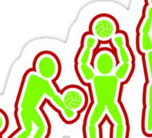 Volleyball: Digger, Bumper, Setter. Blocker. Spiker. Sticker