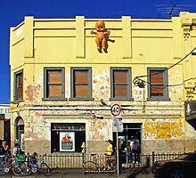Brunswick Street, Melbourne by John Mitchell
