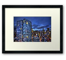 Major Highs And Manic Lows Framed Print