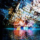 Melissani Cave, Kefalonia by slexii