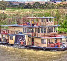 Full Steam Ahead - Captain Proud, Murray Bridge, South Australia by Mark Richards