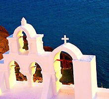 Bells of Oia, Santorini by slexii