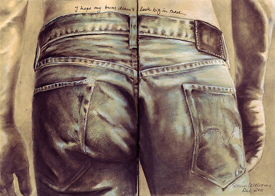 I hope my bum doesn't look big in these... by Sorina Williams