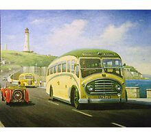 Bristol L on Plymouth Hoe Photographic Print