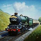Cornish Riviera express by Mike Jeffries