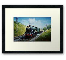 Cornish Riviera express Framed Print