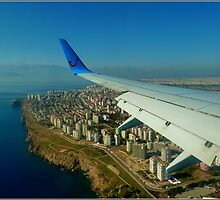 Approaching Antalya by Janone