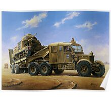 Scammell Pioneer  Poster