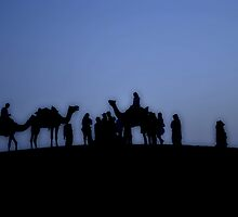 Resting Travellers by perspic