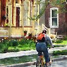 Lovely Spring Day For a Ride by Susan Savad