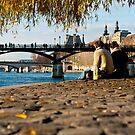 Lazy Noon in Paris by ferryvn