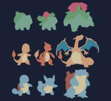 Evolution of Pokemon Kids Clothes