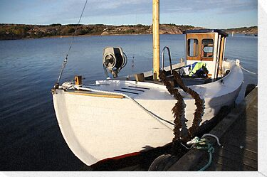 Boat, West Sweden by Jeanne Horak-Druiff