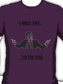 David Tennant: Fix You T-Shirt