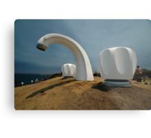 Big Tap @ Sculptures By The Sea, Australia 2011 Metal Print