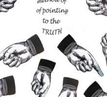 MIND Searching for TRUTH Sticker