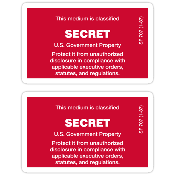 Secret Stickers by sundayedition