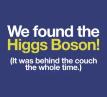 We found the Higgs! by Kip Stewart