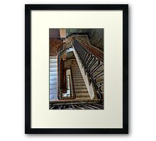 Masonic Memorial Temple Staircase • Brisbane • Queensland Framed Print