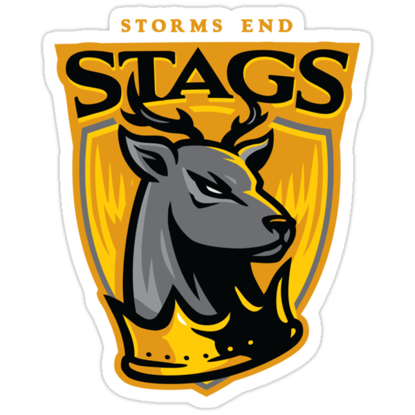 Go Stags! - STICKER by WinterArtwork
