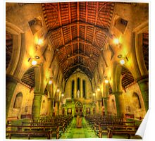 Mount Saint Bernard Abbey - The Nave Poster