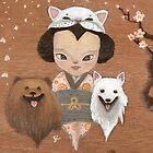 cat & dogs by carla zamora