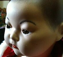 Dalai Lama antique reproduction doll. by chrythmnove