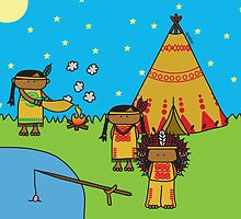 Indians - Print, Card & Poster by oekies