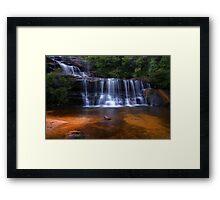 The Queen's Cascades Framed Print