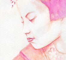 Red Geisha by Karen Clark