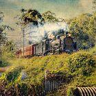 Train Set #7 by Robert  Welsh