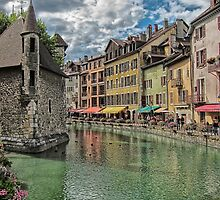 Annecy France by Sue Martin