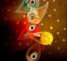 Lighting Birds by Ruth Fitta-Schulz