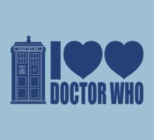 I heart heart Doctor Who by Adekin
