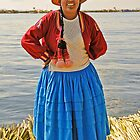 Uros woman (II) by Konstantinos Arvanitopoulos