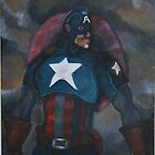 Captain America At War by Sandy Clifton