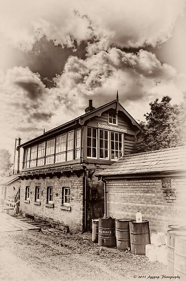 Loughborough Signalbox by David J Knight